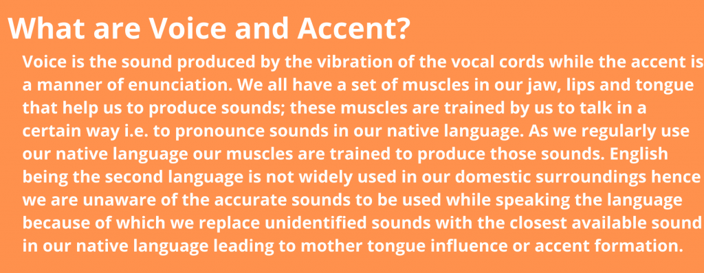 voice and accent training in hyderabad